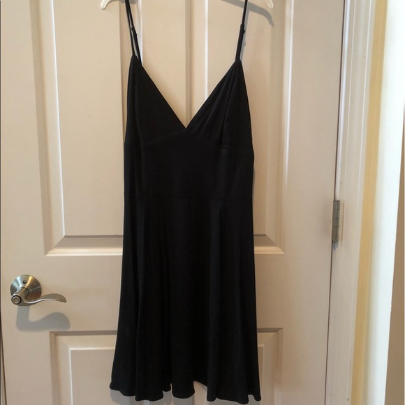 silence + noise Dresses & Skirts - Black sundress from Urban Outfitters